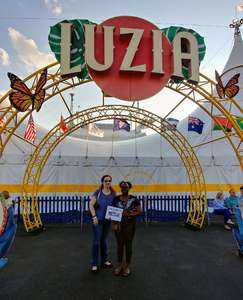 Sheila attended Luzia by Cirque Du Soleil on May 25th 2018 via VetTix