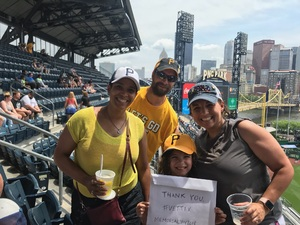 Click To Read More Feedback from Pittsburgh Pirates vs. Chicago Cubs - MLB - Memorial Day Game!