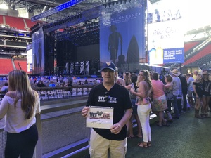 Click To Read More Feedback from Kenny Chesney: Trip Around the Sun Tour - Standing Room Only