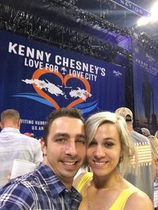 Julian attended Kenny Chesney: Trip Around the Sun Tour - Standing Room Only on May 26th 2018 via VetTix