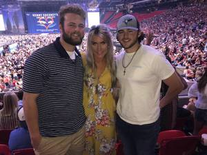 Marian attended Kenny Chesney: Trip Around the Sun Tour - Standing Room Only on May 26th 2018 via VetTix