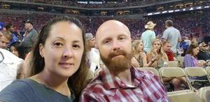 Michelle attended Kenny Chesney: Trip Around the Sun Tour - Standing Room Only on May 26th 2018 via VetTix