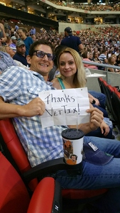 Mathew attended Kenny Chesney: Trip Around the Sun Tour - Standing Room Only on May 26th 2018 via VetTix