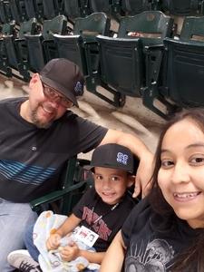 Tobias attended Arizona Diamondbacks vs. Miami Marlins - MLB on Jun 1st 2018 via VetTix