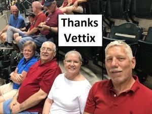 Stephen attended Arizona Diamondbacks vs. Miami Marlins - MLB on Jun 1st 2018 via VetTix