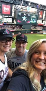 Scott attended Arizona Diamondbacks vs. Miami Marlins - MLB on Jun 1st 2018 via VetTix
