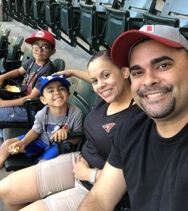 Carlos attended Arizona Diamondbacks vs. Miami Marlins - MLB on Jun 1st 2018 via VetTix