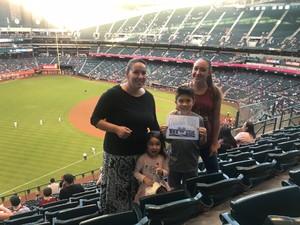 Tara attended Arizona Diamondbacks vs. Miami Marlins - MLB on Jun 1st 2018 via VetTix