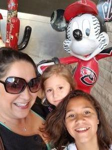 Deidra attended Arizona Diamondbacks vs. Miami Marlins - MLB on Jun 1st 2018 via VetTix