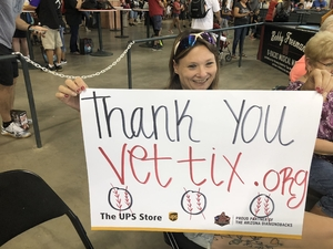 Jesse attended Arizona Diamondbacks vs. Miami Marlins - MLB on Jun 2nd 2018 via VetTix