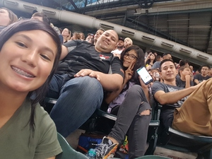 Jorge attended Arizona Diamondbacks vs. Miami Marlins - MLB on Jun 2nd 2018 via VetTix
