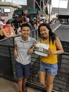 SALLY attended Arizona Diamondbacks vs. Miami Marlins - MLB on Jun 2nd 2018 via VetTix