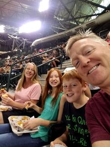Thankful Vet attended Arizona Diamondbacks vs. Miami Marlins - MLB on Jun 2nd 2018 via VetTix