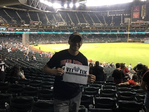 pedro attended Arizona Diamondbacks vs. Miami Marlins - MLB on Jun 2nd 2018 via VetTix
