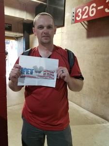 Steven attended Arizona Diamondbacks vs. Miami Marlins - MLB on Jun 2nd 2018 via VetTix