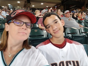 Kim attended Arizona Diamondbacks vs. Miami Marlins - MLB on Jun 2nd 2018 via VetTix