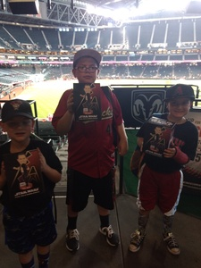 Ruben attended Arizona Diamondbacks vs. Miami Marlins - MLB on Jun 2nd 2018 via VetTix