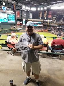 Anthony attended Arizona Diamondbacks vs. Miami Marlins - MLB on Jun 2nd 2018 via VetTix