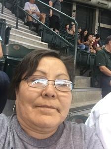 Linda attended Arizona Diamondbacks vs. Miami Marlins - MLB on Jun 3rd 2018 via VetTix