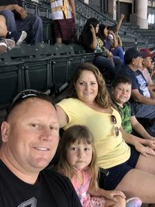Jason attended Arizona Diamondbacks vs. Miami Marlins - MLB on Jun 3rd 2018 via VetTix