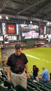 Ernest attended Arizona Diamondbacks vs. Miami Marlins - MLB on Jun 3rd 2018 via VetTix