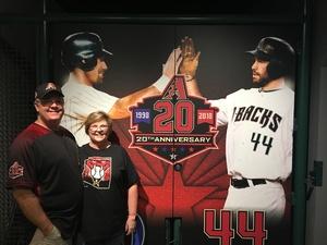 Johnny attended Arizona Diamondbacks vs. Miami Marlins - MLB on Jun 3rd 2018 via VetTix