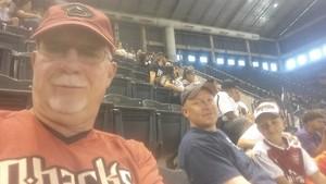 Ronald attended Arizona Diamondbacks vs. Miami Marlins - MLB on Jun 3rd 2018 via VetTix