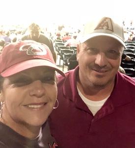 MARIA ISABEL attended Arizona Diamondbacks vs. Miami Marlins - MLB on Jun 3rd 2018 via VetTix
