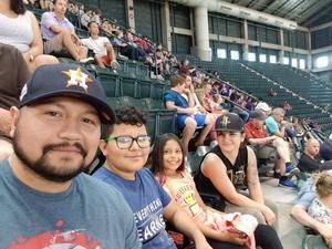 miguel attended Arizona Diamondbacks vs. Pittsburgh Pirates on Jun 13th 2018 via VetTix