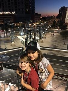 Justin attended Arizona Diamondbacks vs. Pittsburgh Pirates on Jun 13th 2018 via VetTix