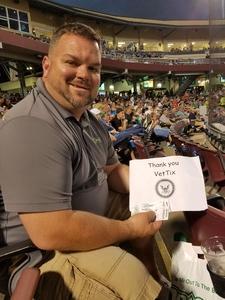 Adam Listermann attended Dayton Dragons vs. Lansing Lugnuts - MLB on Jun 1st 2018 via VetTix