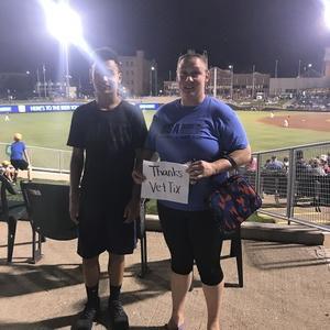 Kelli attended Dayton Dragons vs. Lansing Lugnuts - MLB on Jun 1st 2018 via VetTix