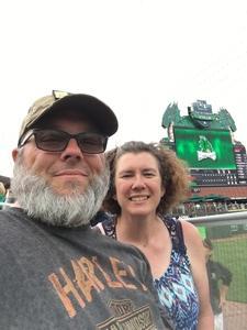 Renee attended Dayton Dragons vs. Lansing Lugnuts - MLB on Jun 1st 2018 via VetTix