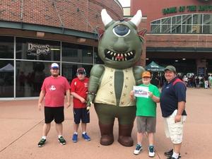 Mike attended Dayton Dragons vs. Lansing Lugnuts - MLB on Jun 1st 2018 via VetTix