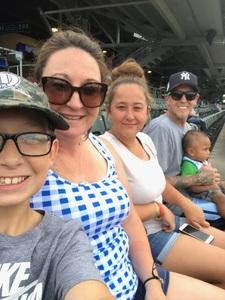 Shana attended Dayton Dragons vs. Lansing Lugnuts - MLB on Jun 1st 2018 via VetTix