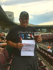 Gary attended Dayton Dragons vs. Lansing Lugnuts - MLB on Jun 1st 2018 via VetTix