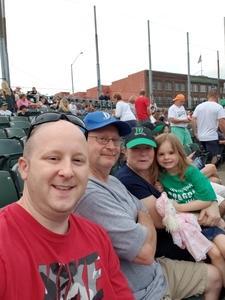 Jeremy attended Dayton Dragons vs. Lansing Lugnuts - MLB on Jun 1st 2018 via VetTix