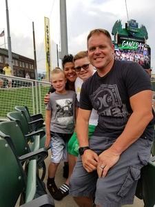 Tyler attended Dayton Dragons vs. Lansing Lugnuts - MLB on Jun 1st 2018 via VetTix