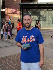Michael attended Arizona Diamondbacks vs. New York Mets - MLB on Jun 14th 2018 via VetTix