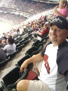 Douglas attended Arizona Diamondbacks vs. New York Mets - MLB on Jun 15th 2018 via VetTix