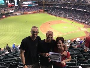 Frederick attended Arizona Diamondbacks vs. New York Mets - MLB on Jun 16th 2018 via VetTix