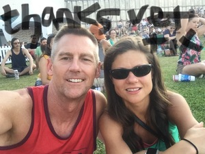 Tracy attended 97. 1 the Eagle Presents Bfd 2018 - Lawn Seats on May 26th 2018 via VetTix