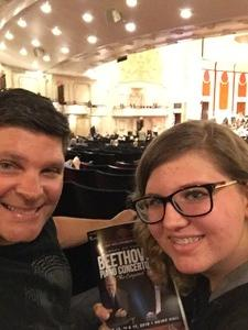 Mark attended Ax Plays Beethoven's Emperor - Presented by the Pittsburgh Symphony Orchestra on Jun 17th 2018 via VetTix