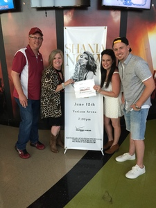 Gary attended Shania Twain: Now on Jun 12th 2018 via VetTix