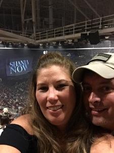 Richard attended Shania Twain: Now on Jun 12th 2018 via VetTix