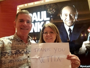 Click To Read More Feedback from Paul Anka: Celebrating 60 Years of Hits - His Way