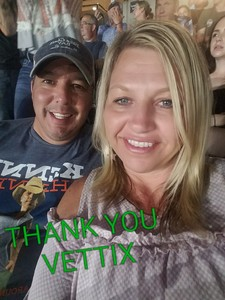 MICHAEL attended Kenny Chesney: Trip Around the Sun Tour on Jun 23rd 2018 via VetTix