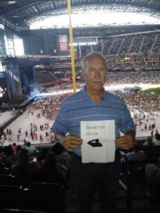 William attended Kenny Chesney: Trip Around the Sun Tour on Jun 23rd 2018 via VetTix