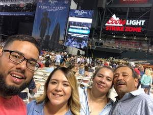 Alvaro attended Kenny Chesney: Trip Around the Sun Tour on Jun 23rd 2018 via VetTix