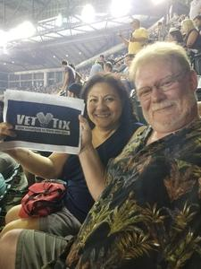 Anthony attended Kenny Chesney: Trip Around the Sun Tour on Jun 23rd 2018 via VetTix